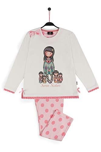 SANTORO LONDON - Pijama Gorjuss Niña Algodón Santoro Niñas Color: Crudo Talla: 12