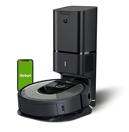 Irobot Roomba i7+ i7558 aspirateur robot avec base autonettoyante