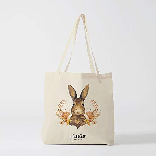 76DinahJordan tote tas konijn tas canvas katoenen tas luier tas handtas tote tas tas van race huidige tas boodschappentas cadeau voor vriend gift