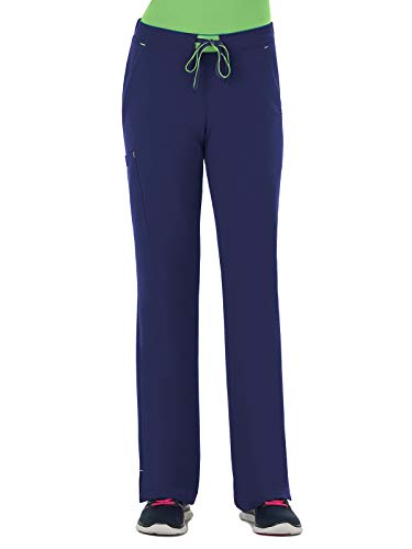 Jockey 2313 Women's 3-in-1 Convertible Scrub Pant New Navy XS Tall