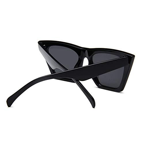 CSCZL Cat Eye Donna Occhiali da Soleer Occhiali da Sole retrò Uomo Moda Donna Occhiali UV400 Occhiali da Sole Classici