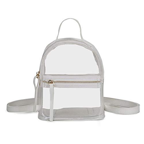 Frauen Mini Transparent Laser PVC-Rucksack-Schulter-Beutel-Beiläufige Daypack Rucksack Für Mädchen