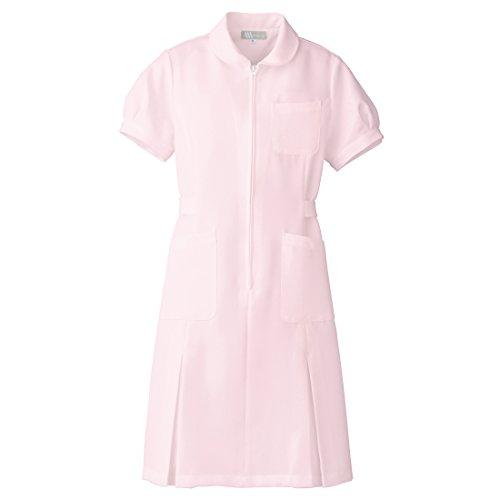 【Lumiere】ルミエール ナース 看護師用 女性用 白衣 パフスリーブ ワンピース (861337) ピンク 5L