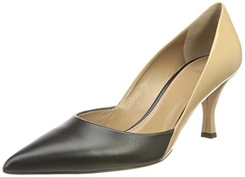 BOSS Olivia Contrpump70-c - Zapatos de tacón para Mujer, Color Negro, Talla 36 EU