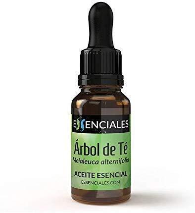 Essenciales - Aceite Esencial de Árbol de Té, 100% Puro, 10ml   Aceite Esencial Melaleuca Alternifolia - Tonificante, Antiséptico y Antifúngico