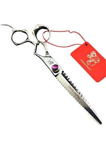 QJXSAN Professional Hair Ausdünnung Schere Split End Trimmer - Sharp Barber Haar Effilierschere Texturizing Schere Ausdünnung Schere for Kinder Männer und Frauen