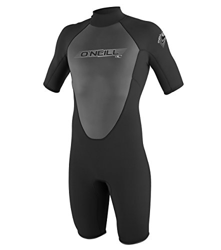 O'Neill Wetsuits Herren Neoprenanzug Reactor 2 mm Spring Wetsuit, Black, XL