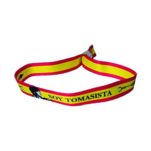 PULSERA TORERO SOY TOMASISTA BANDERA ESPAÑA