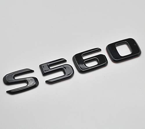 Stemma per portellone posteriore S560, di alta qualità, colore nero lucido per codice articolo C217 A217 AMG