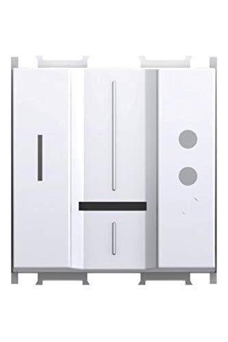 Módulo blanco TEM interruptor UP empotrado