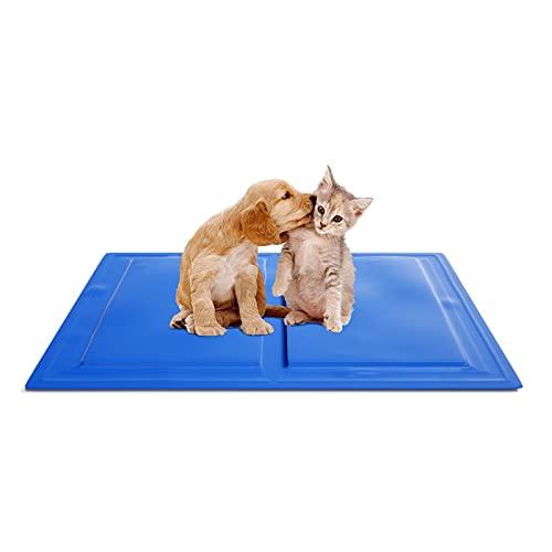 KORIMEFA Tappetino rinfrescante per cani, resistente tappetino per animali domestici, in gel non tossico auto-raffreddante, ideale per cani e gatti in estate calda (40*50CM)