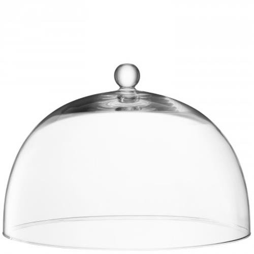 LSA International Vienne, dôme en Verre, Transparent, 38 cm