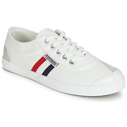 Kawasaki Sneakersy retro Hommes białe sneakersy, biały - biały - 37 eu