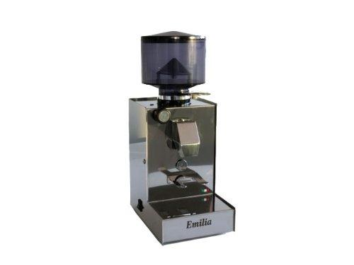 QuickMill Mod. 070 Emilia 070 Kaffeemühle edelstahl poliert Scheibenmahlwerk