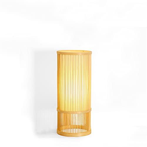 Escritorio lámpara escritorio lámpara simple iluminación oficina aldea manual preparación bambú arte lámpara lámpara estudio lectura luces dormitorio noche lámpara escritorio luces de escritorio lectu