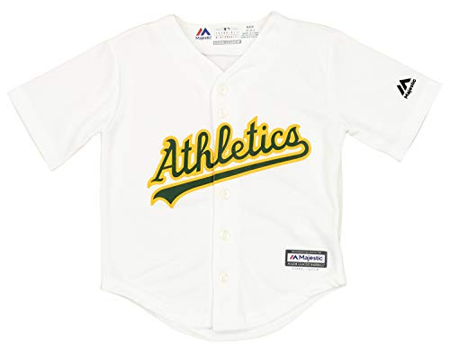 OuterStuff MLB Toddlers Oakland Athletics Home Replica Team Finished Jersey, 4T