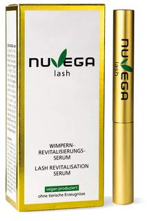 NuVega Lash Eyelash - Veganes Wimpern- und Augenbrauenserum made in Germany 3 ml.