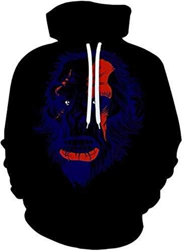 Sudadera con capucha de la NBA para hombre, diseño abstracto, estampado 3D, digital, suelto, para parejas, sudadera de manga larga, sudadera casual, hip hop, deportes, con capucha – Unisex