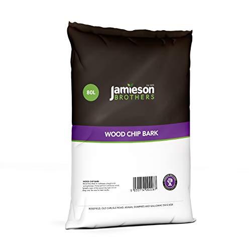 Jamieson Brothers Wood Chip Bark 80L bag