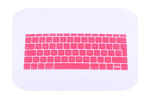Protector de teclado de silicona para Mac Book Pro 13 de la UE H