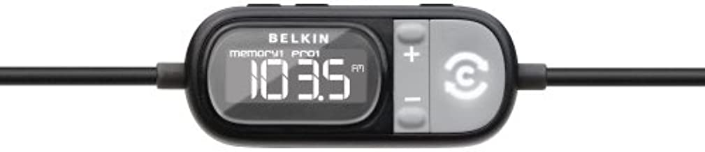 Belkin TuneCast Auto with ClearScan for iPod, iPhone 1G, 3G