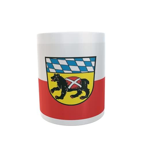 U24 Tasse Kaffeebecher Mug Cup Flagge Freising
