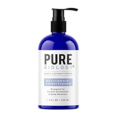 Premium Hair Growth Conditioner with Biotin, Keratin, Argan Oil & Anti Hair Loss Complex Helps Deep Treatment of Damaged, Dry & Colored Hair for Men & Women, Sulfate Free, 8oz