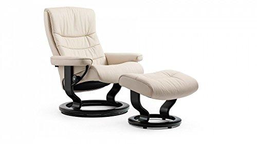 PRIMA Clever einrichten® Stressless Nordic Sessel mit Hocker (M) Creme günstig