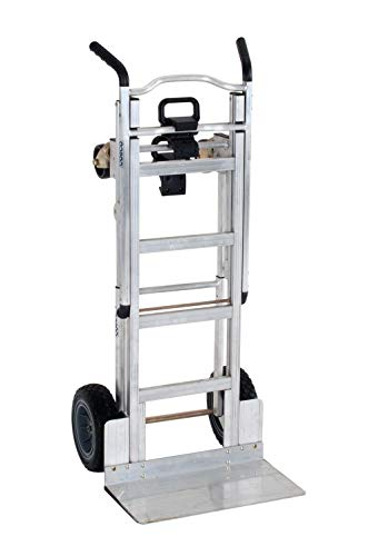 Cosco 3-in-1 Aluminum Hand Truck/Assisted Hand Truck/Cart w/ flat...