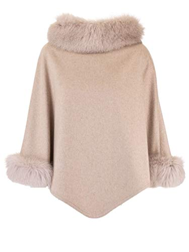 Max Mara Luxury Fashion Damen WSKIT110888003 Beige Kaschmir Poncho | Herbst Winter 20