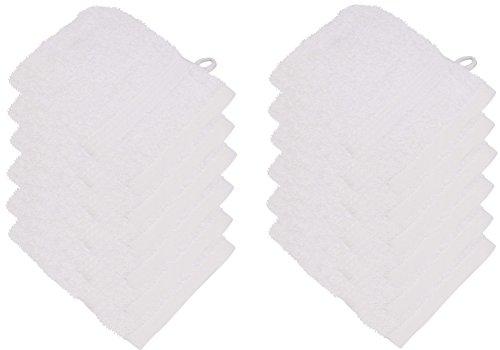 starlabels Serviettes Disponible en 15 couleurs et 5 dimensions doux saugstark 500 g/m², 100% coton, Öko Tex, Coton, naturel, 15 cm x 21 cm