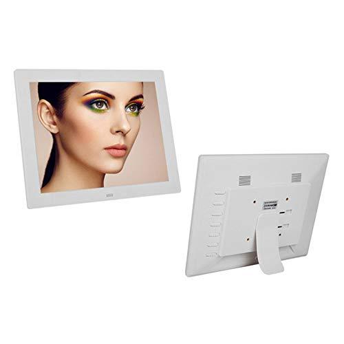 Ultrahelder Vierkant Digitaal Fotolijst 12 Inch Online Versie Reclamemachine Aan De Muur Gemonteerd Multifunctioneel Elektronisch Fotoalbum,White