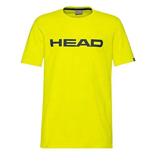 HEAD Herren Club Ivan T-Shirt L Gelb/Dunkel Blau