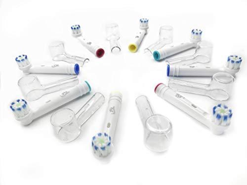 8 Cabezales de repuesto Oral B compatibles Ultrathin genéricos 3AG + 8...