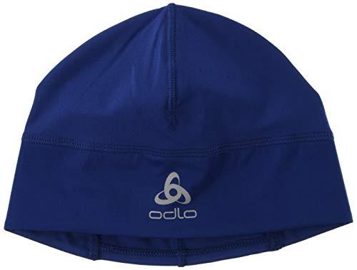 Odlo Bonnet Ceramiwarm pour Homme Taille Unique Estate Blue.
