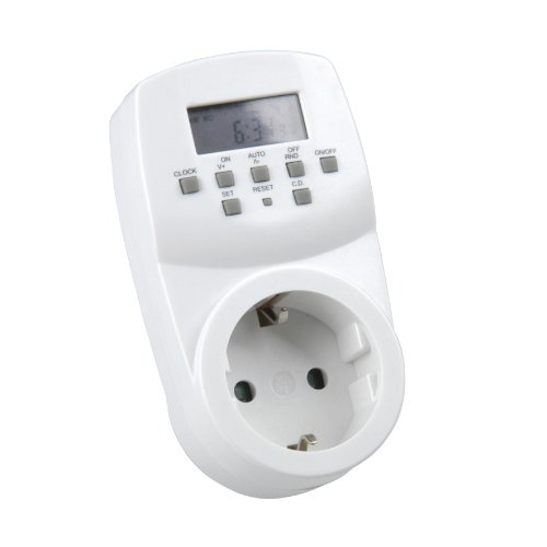 UNITEC 46433 Wochenzeitschaltuhr mini, digital, f. Innenbereich
