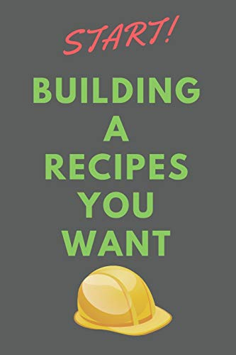Best Price Start Building A RECIPES You Wanted: All Purpose  Recipes  6x9 Blank Lined Formated Cook...