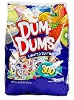 LIMITED EDITION - Spangler Dum Dums Lollipops Candy Limited Edition Flavors, 300 Pops (51 Oz) Bag