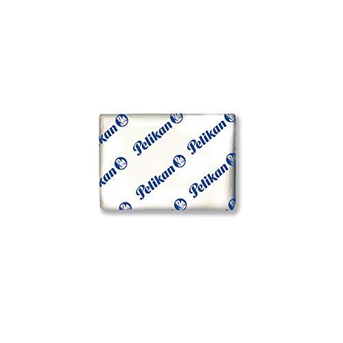 Pelikan 6534 Gomma Pane UG Bianca, Blister da 4 Pezzi, Adatta per Disegno Tecnico e Scolastico, per Carboncino e Grafite