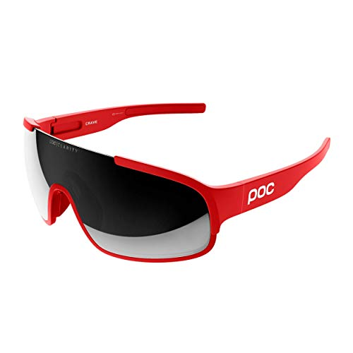 POC Unisex Crave Sonnenbrille, Prismane Red, ONE Size