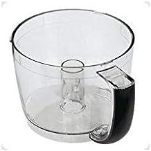 Kookschaal (0,95L) met zwarte greep - keukenmachine CH4DCE