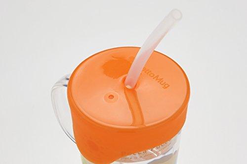 テクセルジャパン ビタット マグ Bitatto Mug オレンジ ストロー ケース付