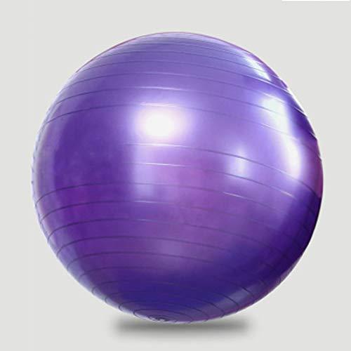 Pelota de fitness antideslizante a prueba de explosiones,Pelota de yoga con bomba,Bola de equilibrio que se puede utilizar en la oficina, el hogar y el fitness al aire libreLa fuerza de
