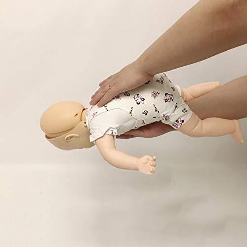 WLKQ Baby HLW Reanimationspuppe - Wiederbelebungspuppe Trainingspuppe - Übungspuppe Herz Lungen Reanimation - Für Erste Hilfe Training