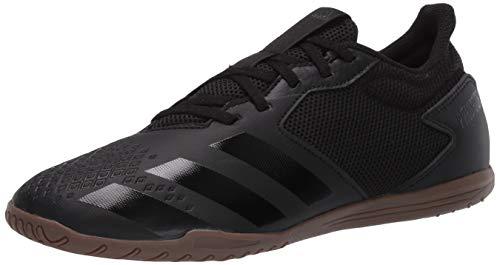 adidas Predator 20.4 Indoor Sala Sneaker para hombre, Negro (Núcleo Negro/Core Negro/Dgh Gris Sólido), 40 EU