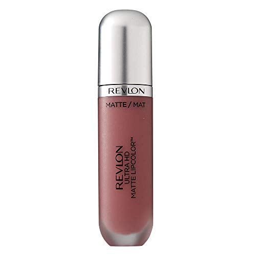 Revlon Ultra Hd Matte Lipcolor, Velvety Matte Liquid Lipstick, 655 Kisses, 0.16 Oz