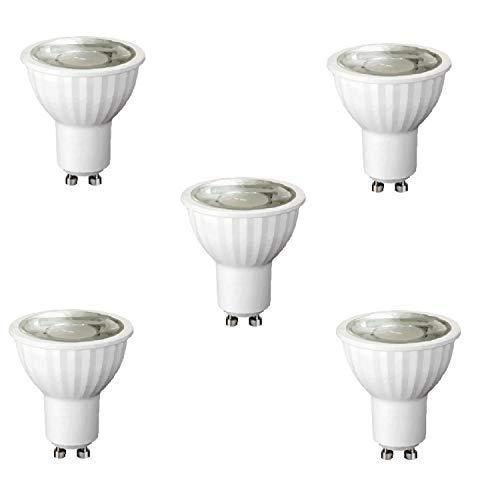 LED-lamp GU10 8W 220-240V 3000K dimbaar 5-pack