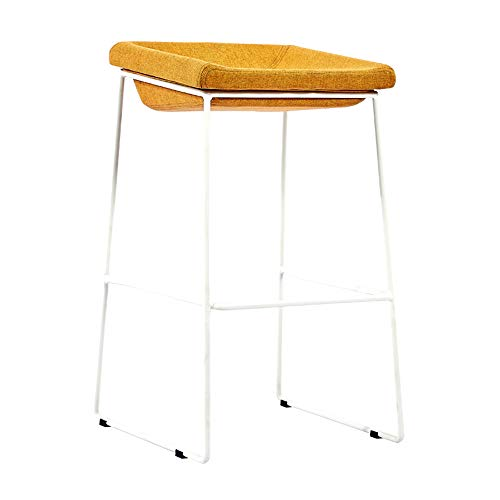 Huifang Sillas de escritorio QFFL jiaozhengyi Wine Bar Chair, Bar Stool Restaurante Iron Art Bar Sto