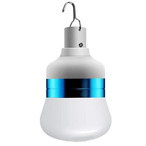 Noche Infantil Dimmable Power Bank Charger LED Resaltar Bombilla de luz de luz con lámpara de emergencia colgada USB Recargable Camping Luz portátil Al aire libre Bombilla de linterna para camping Pat