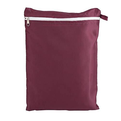 Standmixer Staubschutzhülle mit Tasche und Organizer-Tasche für Kitchen Sunbeam, Cuisinart, Hamilton Mixer(rot)